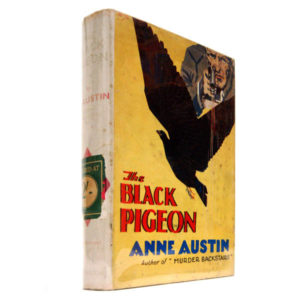 Austin, The Black Pigeon, dust-jacket
