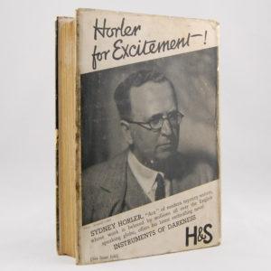 Horler (Sydney) Instruments of Darkness First Edition