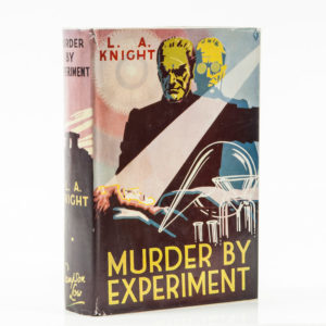 Knight (L.A.) Murder by Experiment first edition