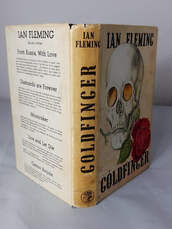 James Bond, Goldfinger first edition