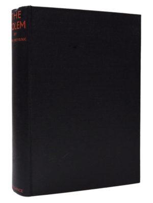 Gustav Meyrink, The Golem, first English edition