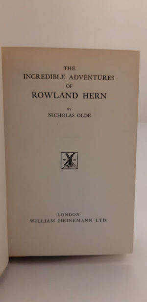 Incredible Adventures of Rowland Hern