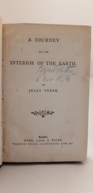 Journey Into the Interior of the Earth