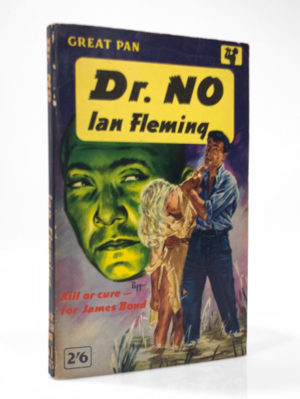 Ian Fleming, Dr No, first paperback edition of this James Bond novel