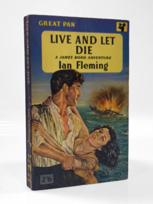 Ian Fleming, Live and Let Die, first paperback edition of this James Bond novel