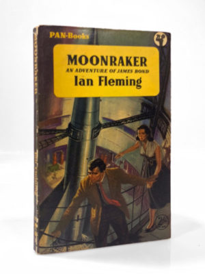Ian Fleming, Moonraker, first paperback edition of this James Bond novel