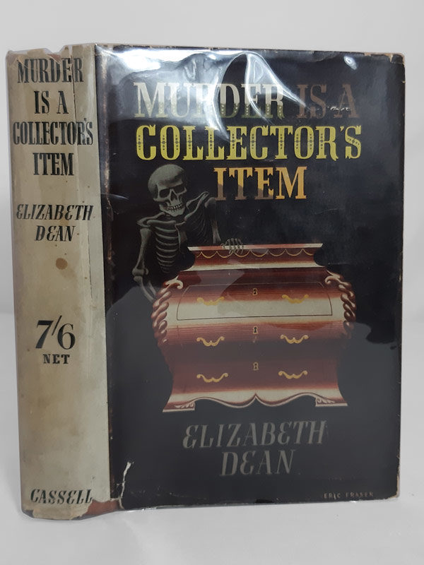 Murder is a Collector's Item by Elizabeth Dean Cassell 1939 UK 1st edition