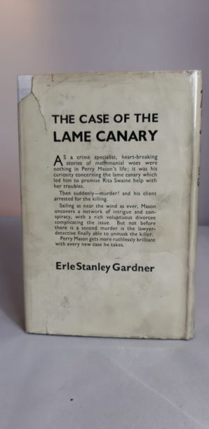 Case of the Lame Canary